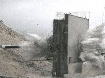इजरायल में, एक नया बंकर विरोधी बम बनाया