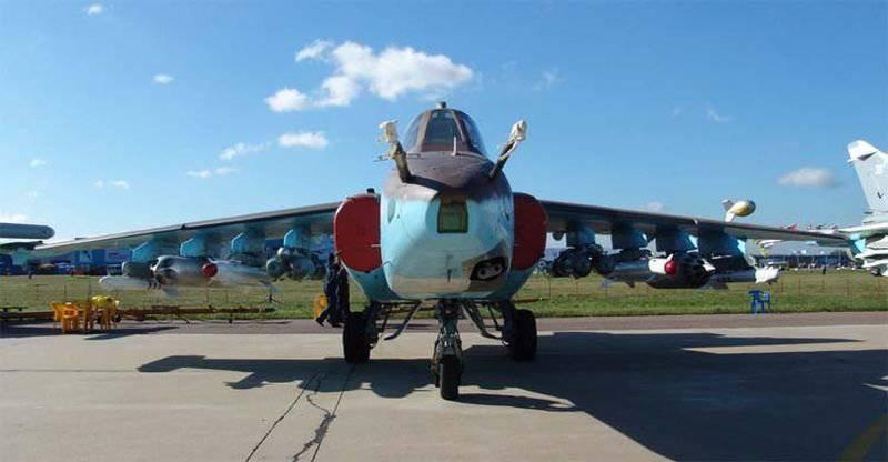 ...касается авиации в этом конфликте Россия активно использовала Су-25см