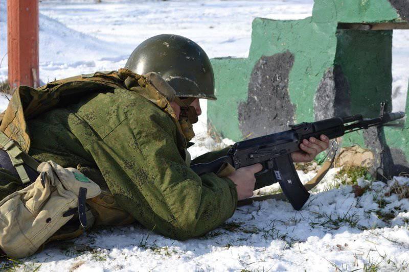 Press tour para a brigada das forças especiais
