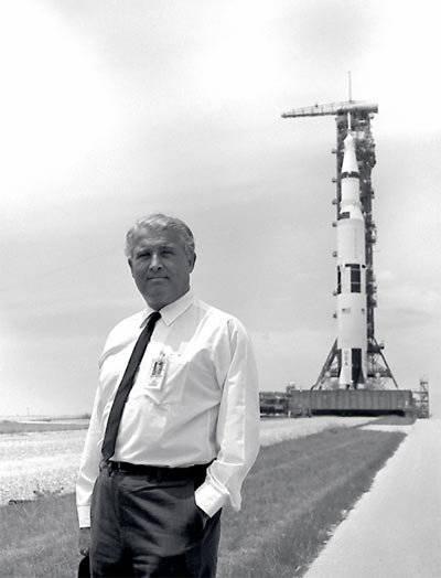 Вернер фон Браун. Ракетный барон на службе NASA