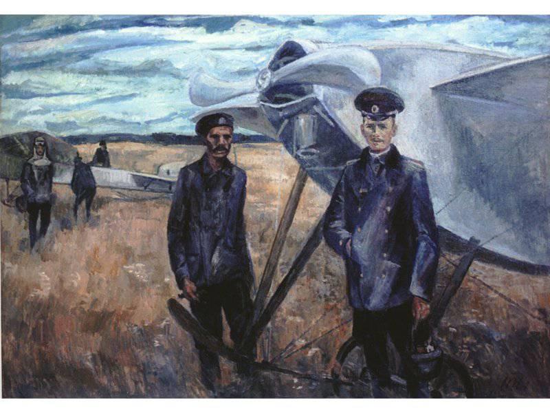 100 anos atrás, Peter Nesterov morreu
