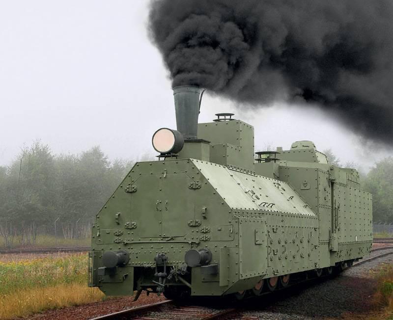 装甲列车 鲜为人知的退伍军人