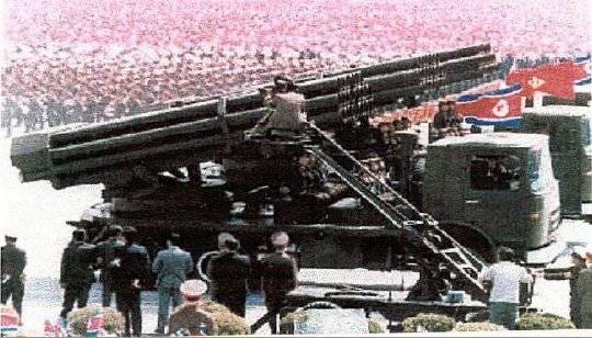 北朝鮮は新しい多数のロケット発射装置を進水させます