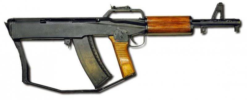Экспериментальные и опытные образцы оружия Ижевского машиностроительного завода (автоматы и винтовки)