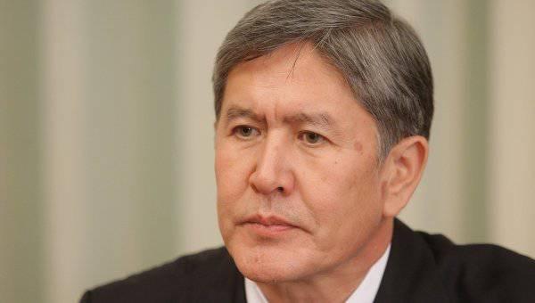 अताम्बेव ने गलती से कहा कि रूस ने कांट बेस में किराया नहीं दिया