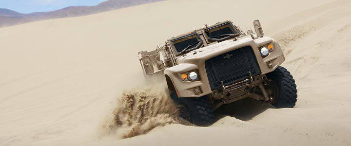 Hybrid cars to replace the Humvee