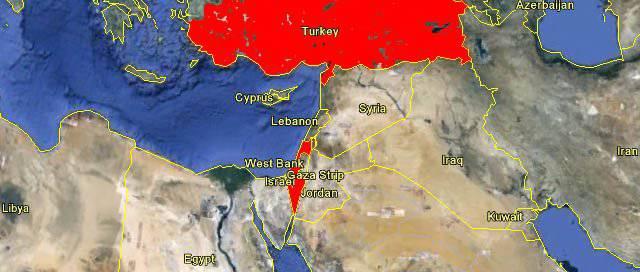 इज़राइल और तुर्की एक दूसरे के खिलाफ दोस्त बनना सीख रहे हैं