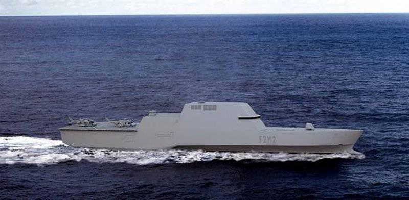 स्पेनिश के परिप्रेक्ष्य परियोजना F-110 को फ्रिगेट करते हैं