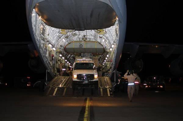 अमेरिकी कमांडो के लिए रॉकेट वाहक जीप