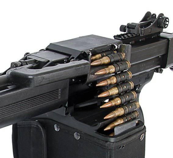 Mitrailleuse pour tir précis: Negev NG7