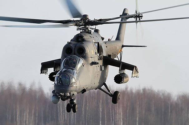 В Торжке показали новые вертолёты Ми-35 и Ка-52