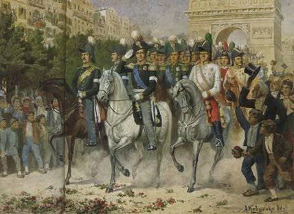 A abertura da estrada para Paris - a batalha de Arcy-sur-Oba