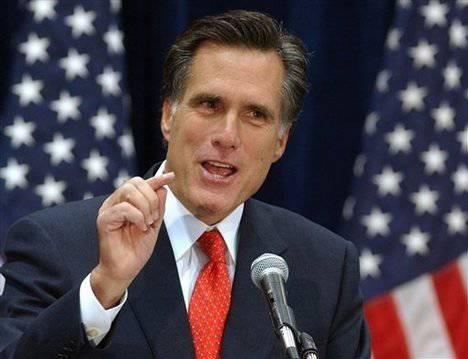 Dos guerreros amantes de los buques de guerra Mitt Romney