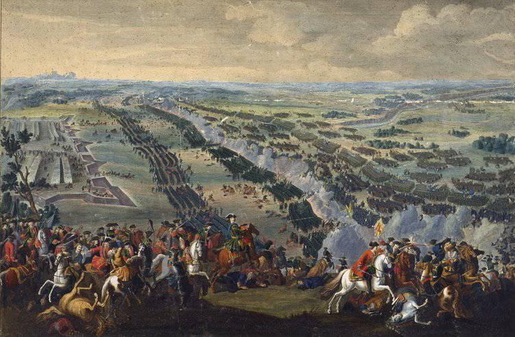 Стратегический перелом в Северной войне - Полтавская битва