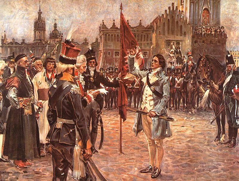 Le mouvement de libération Kosciuszko a conduit la Pologne à mort