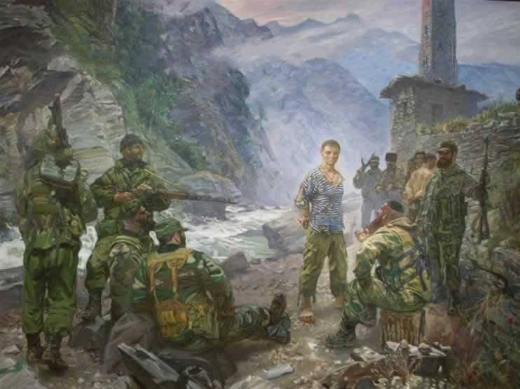 Märtyrer für Glauben und Vaterland Jewgeni Rodionow