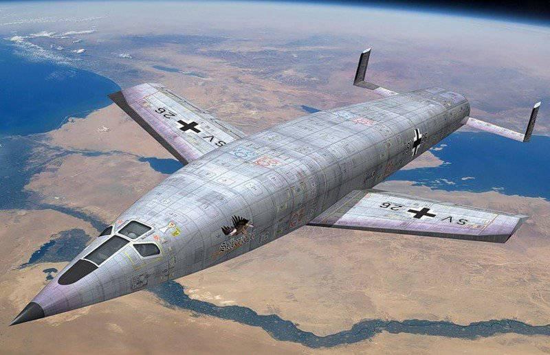 Чудо-оружие Рейха: космический бомбардировщик Зенгера