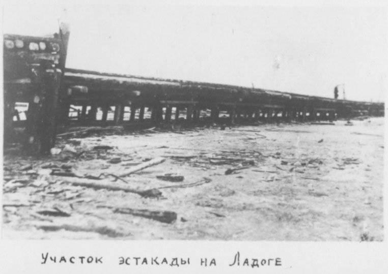 Shlisselburg高速公路 - 被围困的列宁格勒生活的铁路