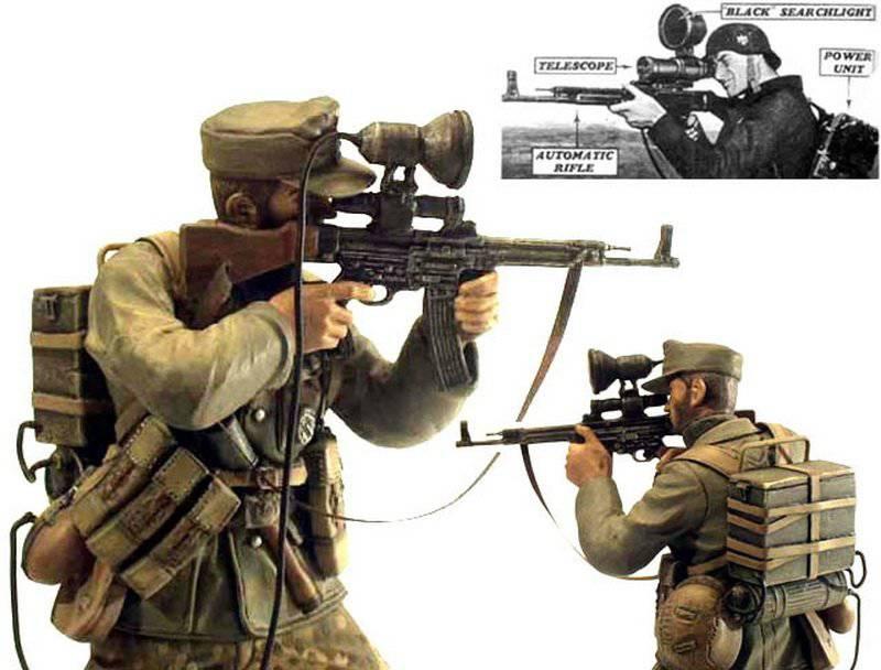 Arme miracle du Reich: fusil d'assaut StG 44 (canon incurvé et viseur infrarouge) 1332876353_stg44-vampir