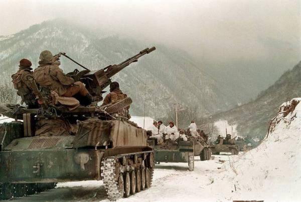 L'assalto di Grozny 1995 dell'anno - un piano per la cattura del fulmine