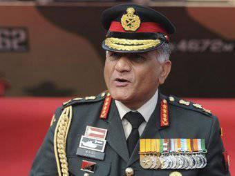 Hindistan generali, ulusal hava savunma eski