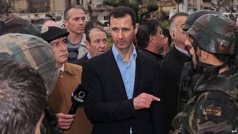Syrie: Bachar Assad arrive et pour cela, il ne sera pas autorisé à assister aux Jeux olympiques de Londres