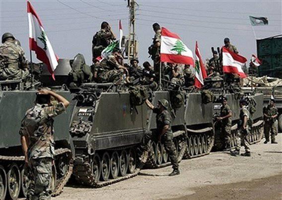 Ливанская армия стянула свои войска
