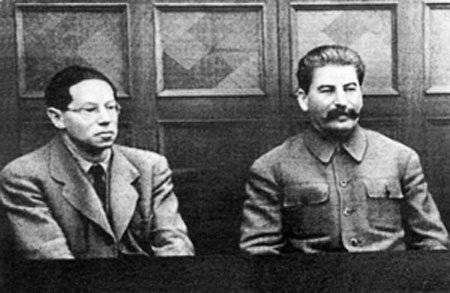 Enregistrement de la conversation du camarade Staline avec l'écrivain allemand Lion Feuchtwanger