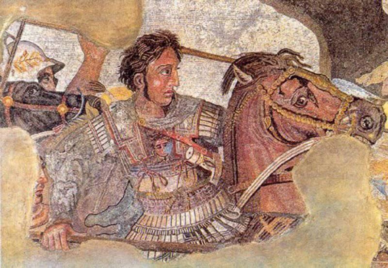 Великие полководцы. Александр Македонский