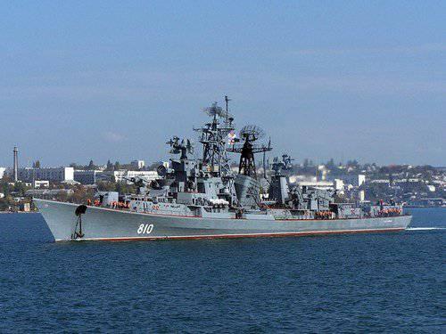 """到叙利亚海岸,送到俄罗斯巡逻舰""""夏普"""""""