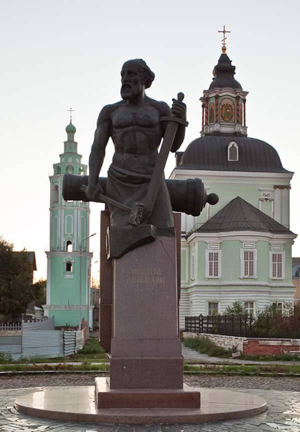 Nikita Antufiev - conocido industrial y fundador de la dinastía Demidov
