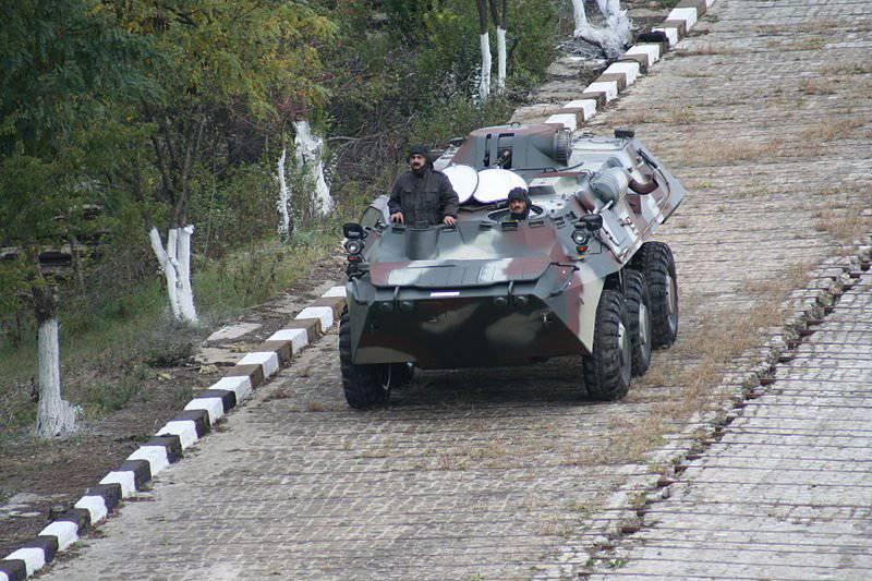 Armament of Georgia - Turkish wheel armored transporter EJDER
