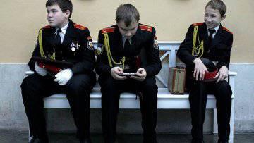 Rusya Federasyonu Savunma Bakanlığı altı Cumhurbaşkanlığı askeri öğrenci okulu açacak