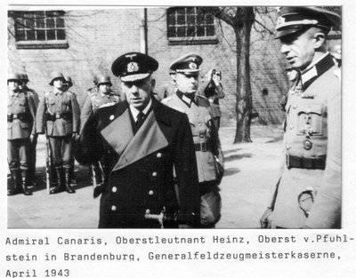 Адмирал Канарис - гений германской разведки окончил свой путь на виселице