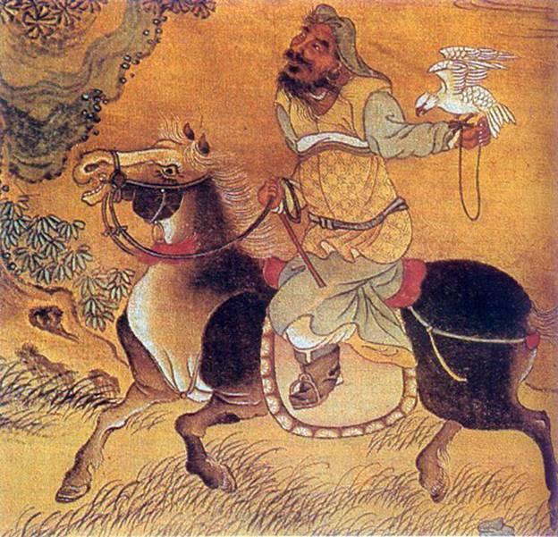 Grands commandants. Gengis Khan