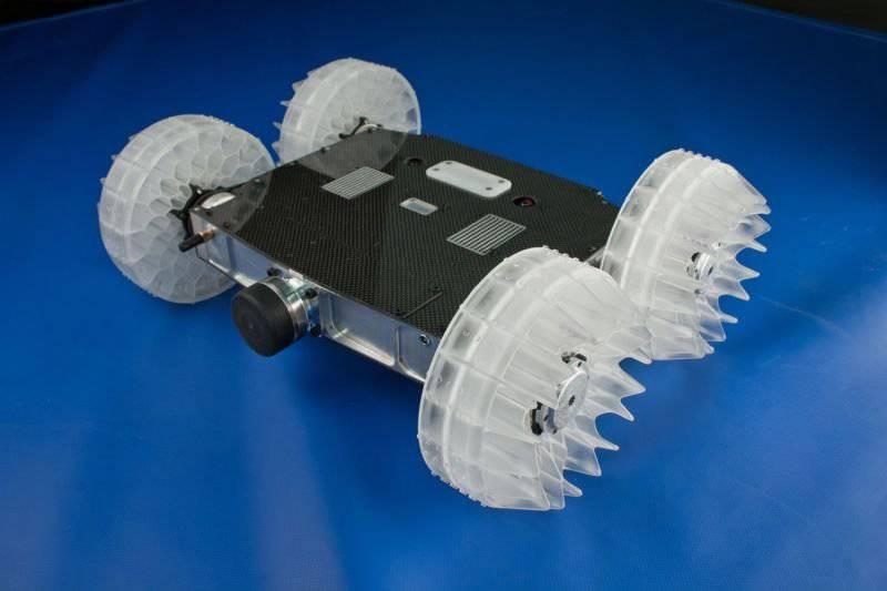 रेत पिस्सू - नए टोही पहिएदार रोबोट यूएस सशस्त्र बल