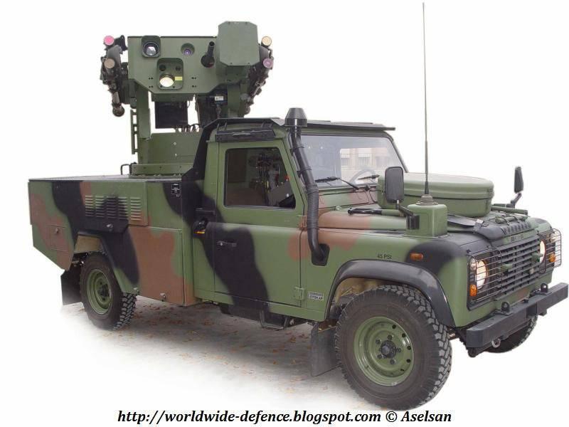 ZIPKIN anti-aircraft missile system (Aselsan-Turkey)