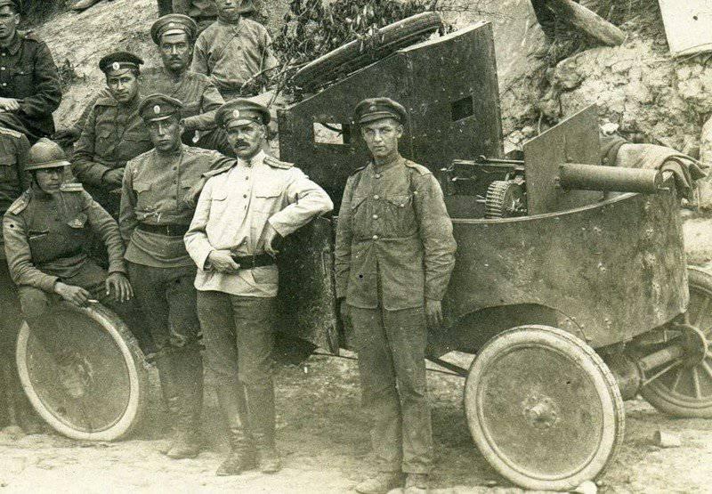 Поставки пулеметов в армию России в ходе Первой мировой войны