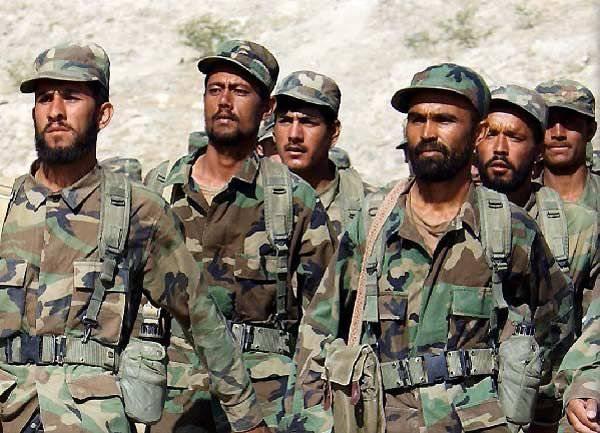 北约:适用于阿富汗军队