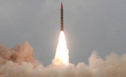 巴基斯坦成功测试了Hatf-4导弹
