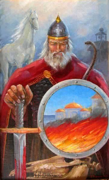 Profetico Oleg - il creatore e custode dello stato russo. All'anniversario 1130 dell'unificazione del nord e del sud della Russia.