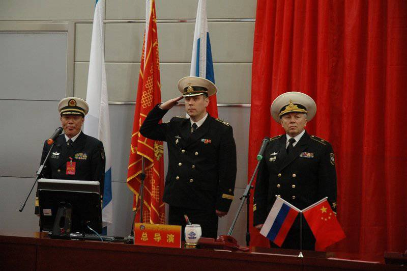 """Hello from China. Russian-Chinese naval exercises """"Maritime interaction - 2012"""""""