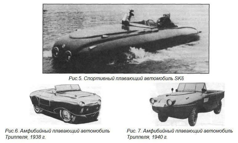 German amphibious vehicles