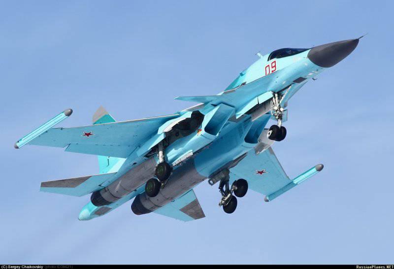 Су-34 – 124шт
