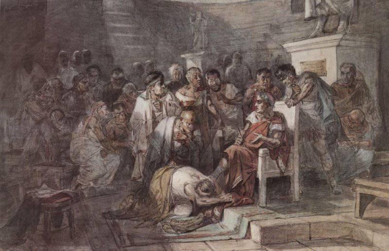 Гай Юлий Цезарь – великий политик и полководец