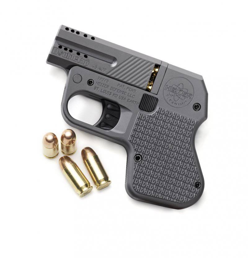 Heizer Defense Double Tap – двуствольный пистолет для самообороны