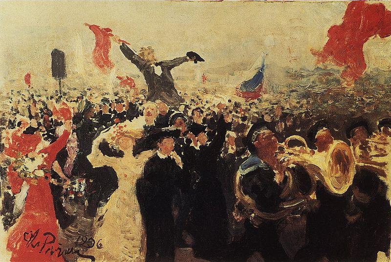 May 1 - Fête du Printemps et du Travail