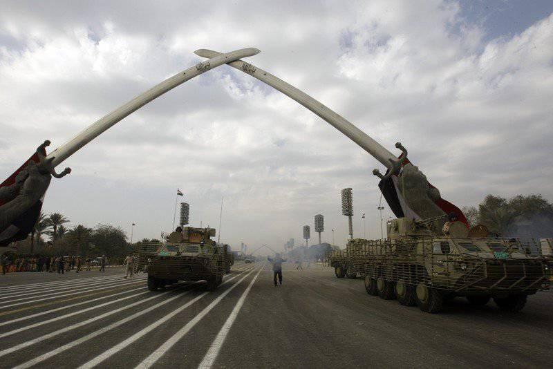 Irak'taki Ukrayna ordusu: gerçekte nasıldı