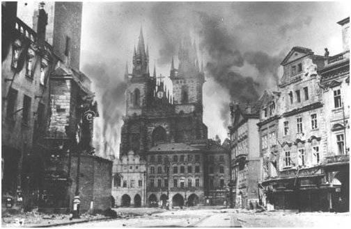 布拉格起义5-9今年可能是1945