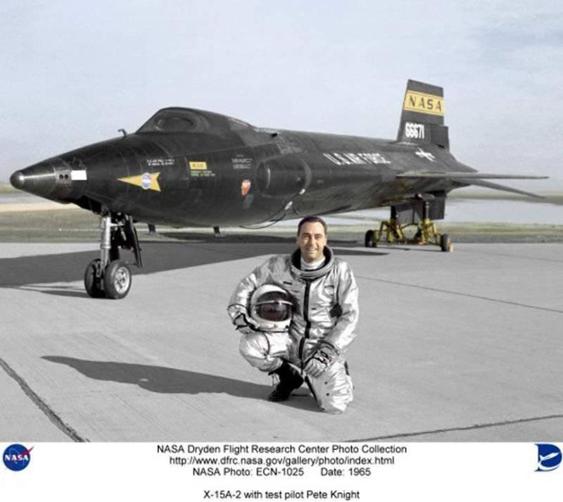 От Фау-2 до Шаттла – экспериментальный пилотируемый NORTH AMERICAN X-15